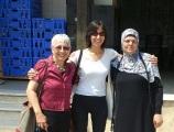 Vivian Silver, Amny Athamny, Kawia Alhawagra @Hura Womén's Catering Enterprise