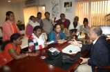 3. Advocating with Minister of Tribal Affairs & Panchayat Raj for Tribal Children MTMLE