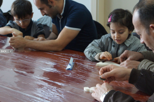 Turkish fathers and children
